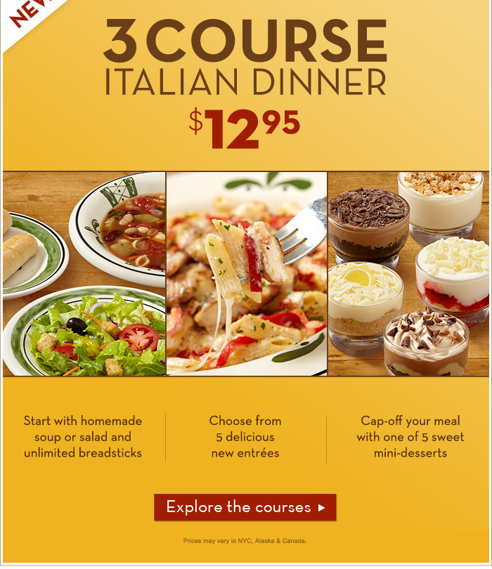Olive Garden Menu 2012 Aimless Walk